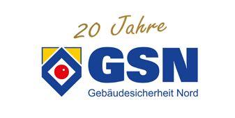 20 Jahre Gebäudesicherheit Nord GmbH Logo