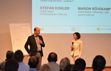 Begrüßung durch die Gastgeber des 6. Diversity-Tag Oldenburg
