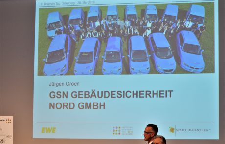 Präsentation der GSN Gebäudesicherheit Nord GmbH beim 6. Diversity-Tag Oldenburg