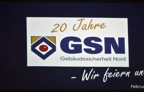 20 Jahre GSN Logo