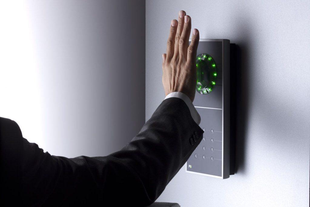Handflächenvenenscanner Intus biometrische Zutrittskontrolle