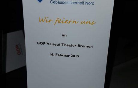 Feier im GOP-Theater