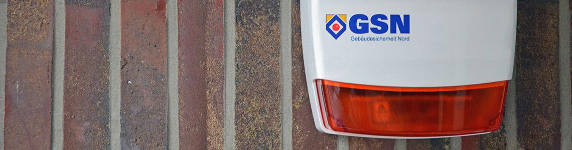 Außensirene mit GSN Logo