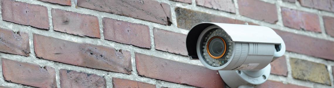 Kamera einer Videoüberwachungsanlage